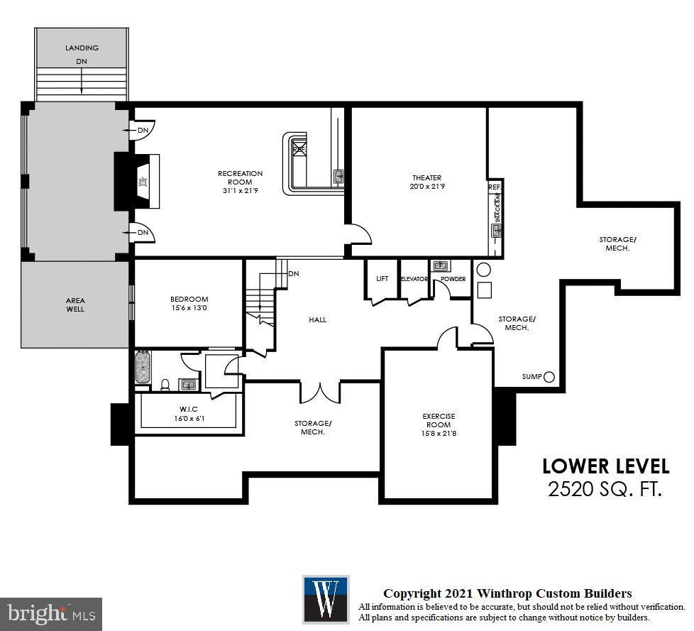 Lower Level - 7008 BENJAMIN ST, MCLEAN