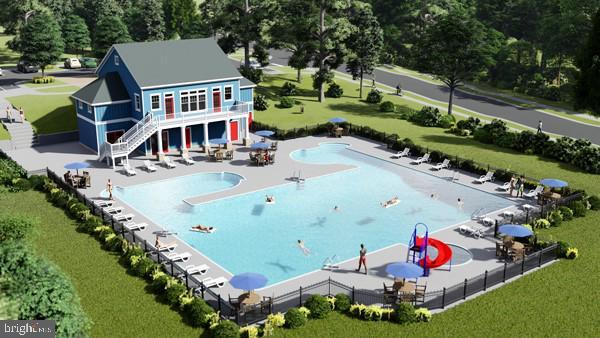 Community Pool - 950 ASPEN RD, STAFFORD
