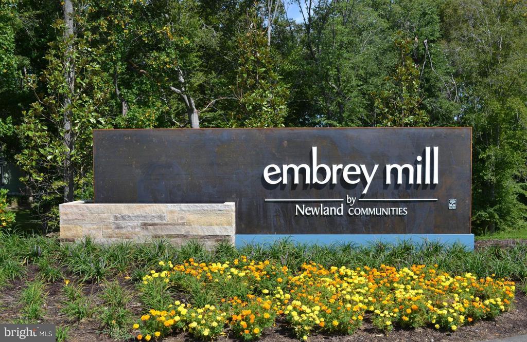 Entrance to Embrey Mill - 950 ASPEN RD, STAFFORD