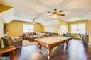 Pool Table conveys! - 208 LIMESTONE LN, LOCUST GROVE