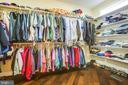 Ample storage in walk-in closet - 208 LIMESTONE LN, LOCUST GROVE