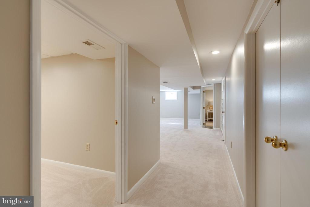 New carpeting and lighting throughout - 604 N LATHAM ST, ALEXANDRIA