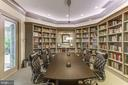 Library and conference room - 851 N GLEBE RD #1717, ARLINGTON