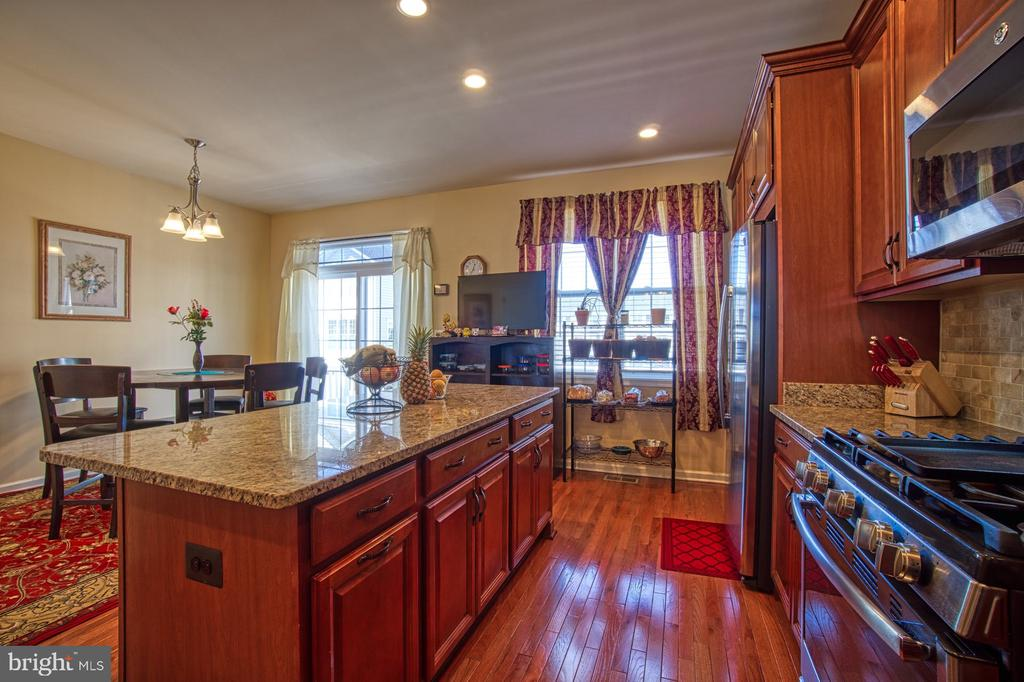 Stainless Steel Appliances with Gas Range - 23399 CARTERS MEADOW TER, ASHBURN