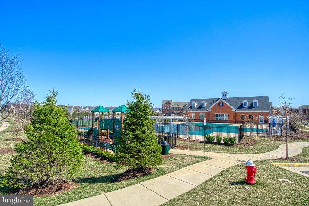 There are Walking Trails Throughout the Community - 23399 CARTERS MEADOW TER, ASHBURN