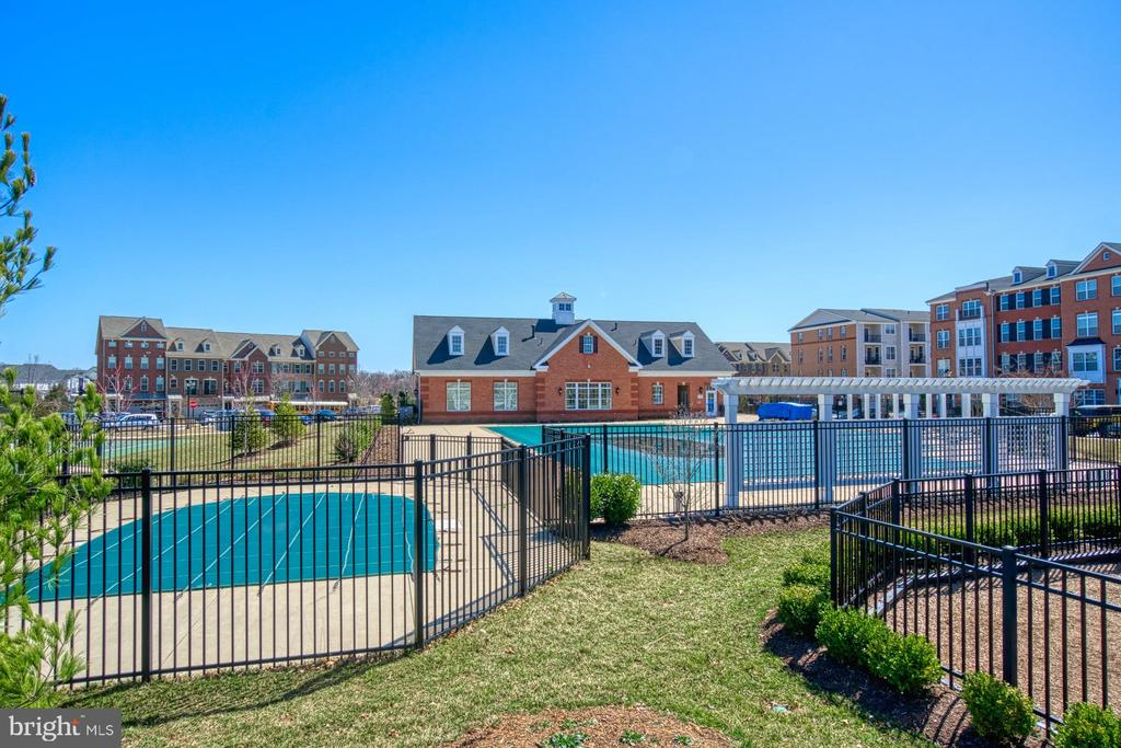 The Community has Several Outdoor Pools - 23399 CARTERS MEADOW TER, ASHBURN