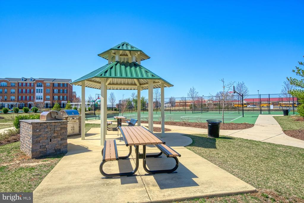 Community Grill and Picnic Area - 23399 CARTERS MEADOW TER, ASHBURN