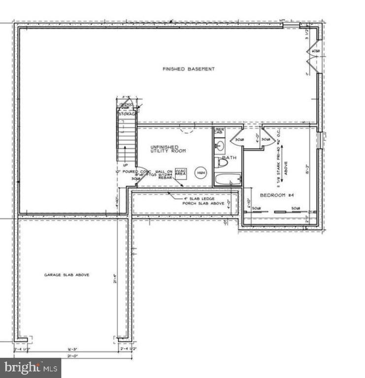 basement - 105 GREEN ST, LOCUST GROVE