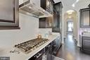 Kitchen complete with Viking Appliances - 312 GOODALL ST, GAITHERSBURG