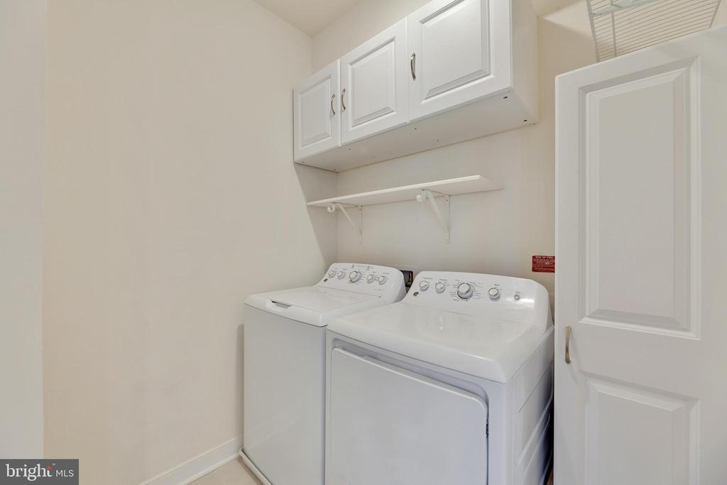 Full sized laundry room in unit - 43091 WYNRIDGE DR #307, BROADLANDS
