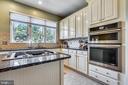 Newer JennAire stove and microwave - 4124 TROWBRIDGE ST, FAIRFAX