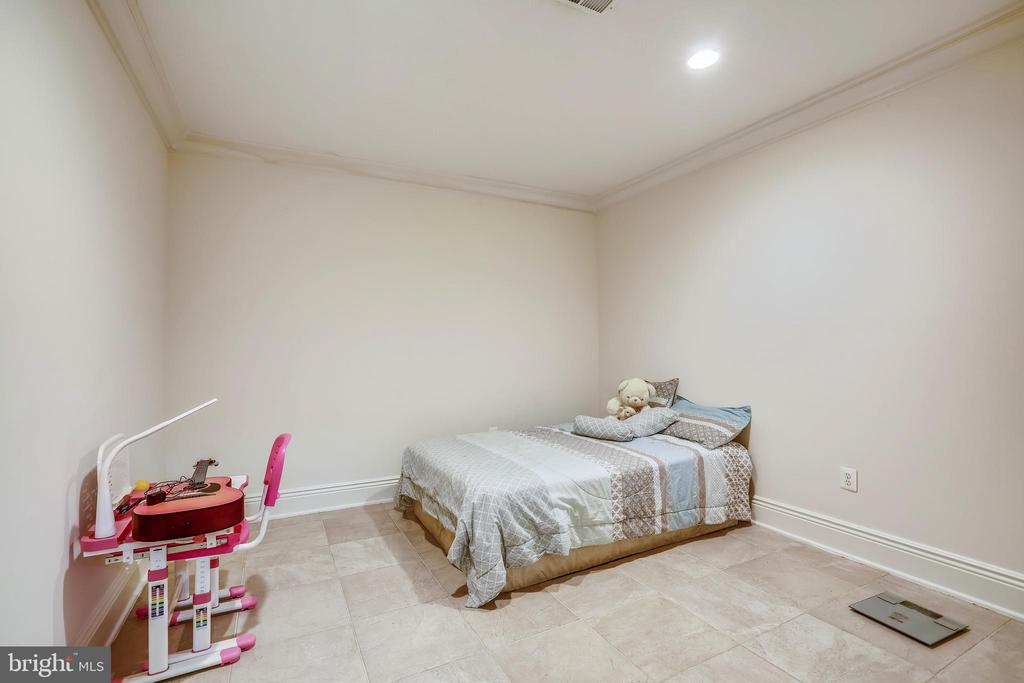 Lower Level Bedroom - 10201 WOODMOOR CIR, SILVER SPRING