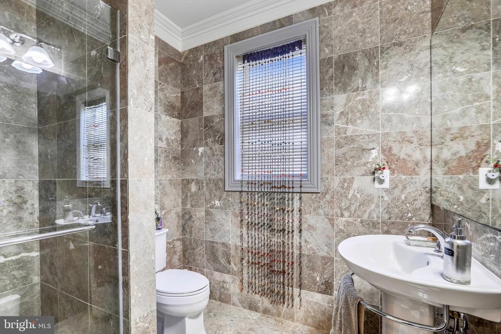 Main Level Bathroom - 10201 WOODMOOR CIR, SILVER SPRING