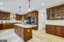 Kitchen - 10201 WOODMOOR CIR, SILVER SPRING