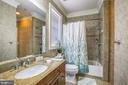 Bathroom Upper - 10201 WOODMOOR CIR, SILVER SPRING