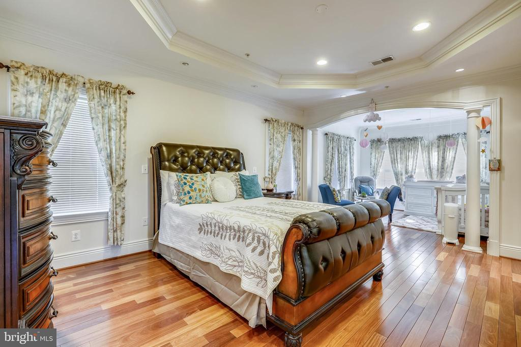 Upper level Primary  Bedroom - 10201 WOODMOOR CIR, SILVER SPRING