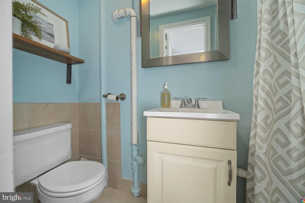 Lower level bathroom with shower - 3008 RUSSELL RD, ALEXANDRIA