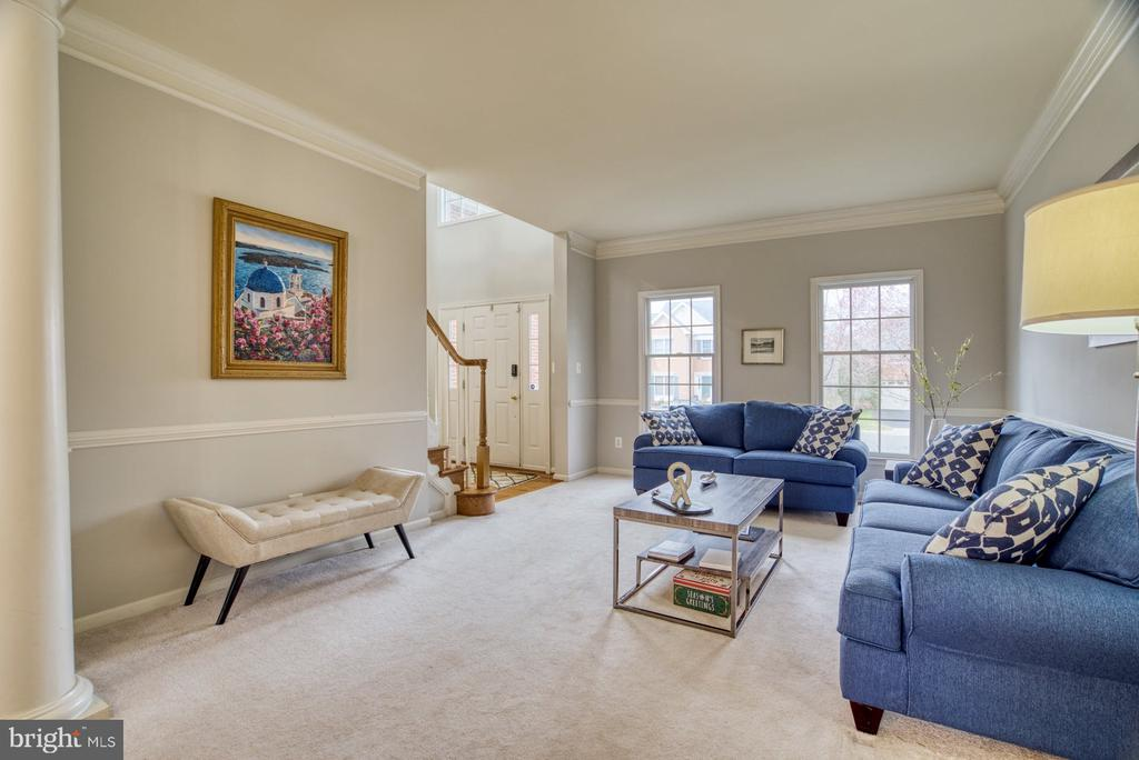 Living Room - 10855 HUNTER GATE WAY, RESTON