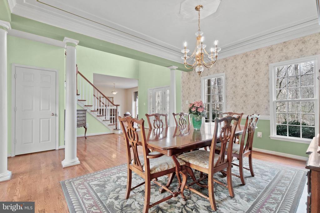 Formal dining room - 39 BETHANY WAY, FREDERICKSBURG