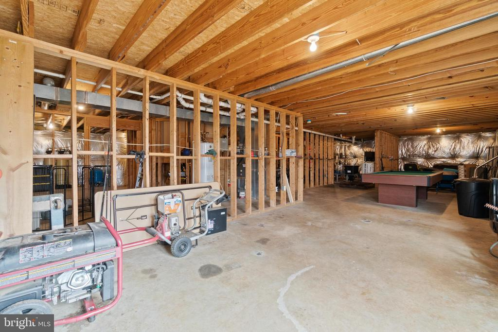 Basement partially finished - 39 BETHANY WAY, FREDERICKSBURG