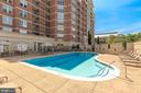 Community pool at the Mercer - 11760 SUNRISE VALLEY DR #1004, RESTON