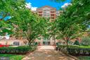 Treed walkway in front of the Mercer - 11760 SUNRISE VALLEY DR #1004, RESTON