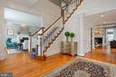 Dazzling Two-Story Foyer with Two Coat Closets - 2424 N EDGEWOOD ST, ARLINGTON