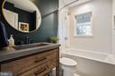 Main Level Bathroom - 1605 BALTIMORE RD, ALEXANDRIA
