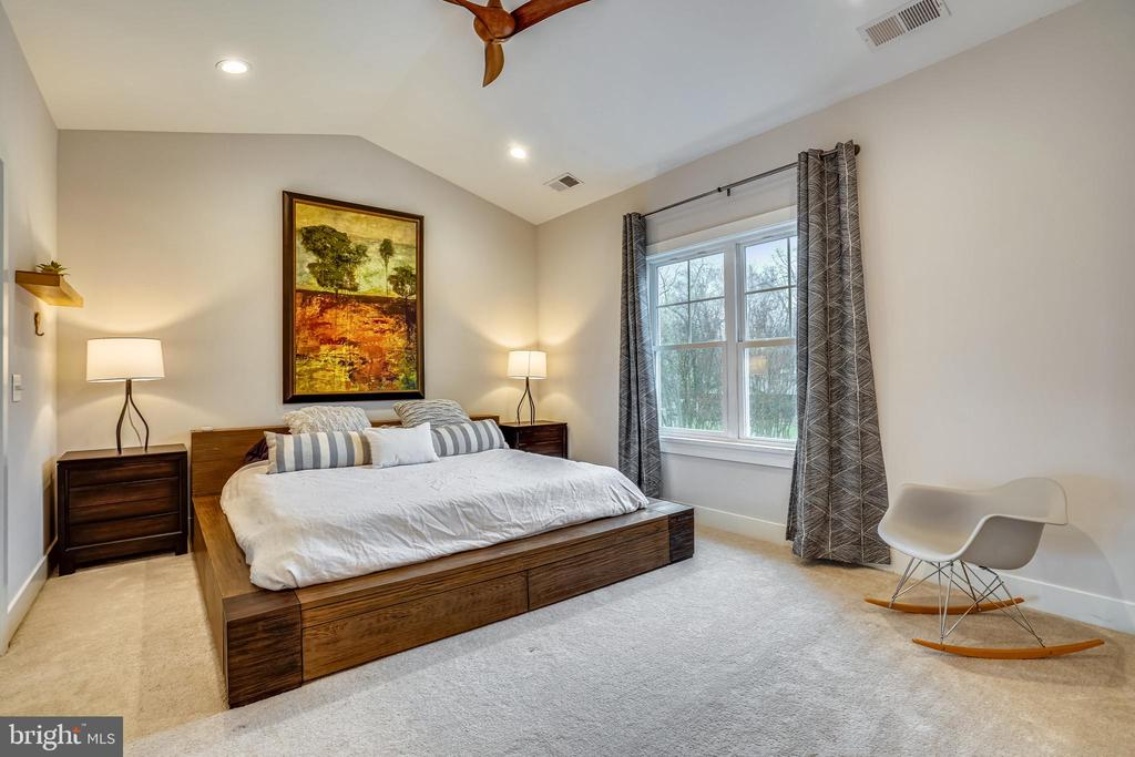 Primary Bedroom w/ vaulted ceilings - 1605 BALTIMORE RD, ALEXANDRIA