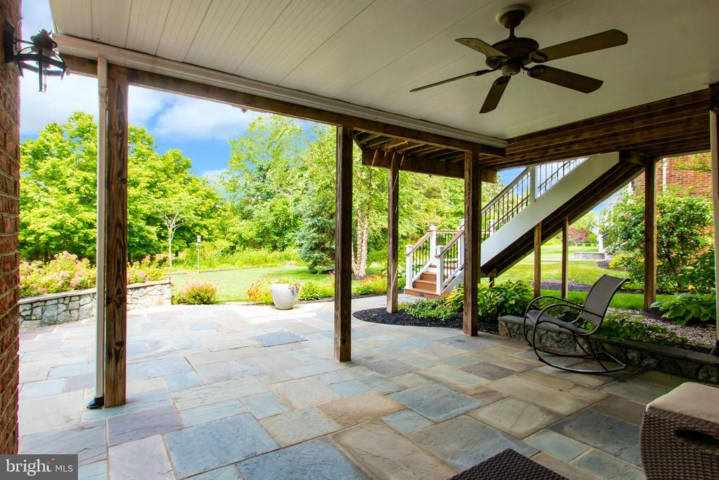 Patio Backs to Woods and Pond - 23037 OLYMPIA DR, BRAMBLETON