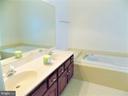 Master Bathroom - 123 GRETNA GREEN CT, ALEXANDRIA