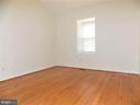 Bedroom #2, hardwood floors, two windows - 123 GRETNA GREEN CT, ALEXANDRIA