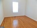 Bedroom #3, hardwood floors - 123 GRETNA GREEN CT, ALEXANDRIA