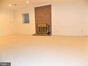 Family Room, on lower level - 123 GRETNA GREEN CT, ALEXANDRIA