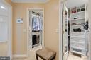 Walk in Closet - Custom Built -ins - 5722 WINDSOR GATE LN, FAIRFAX