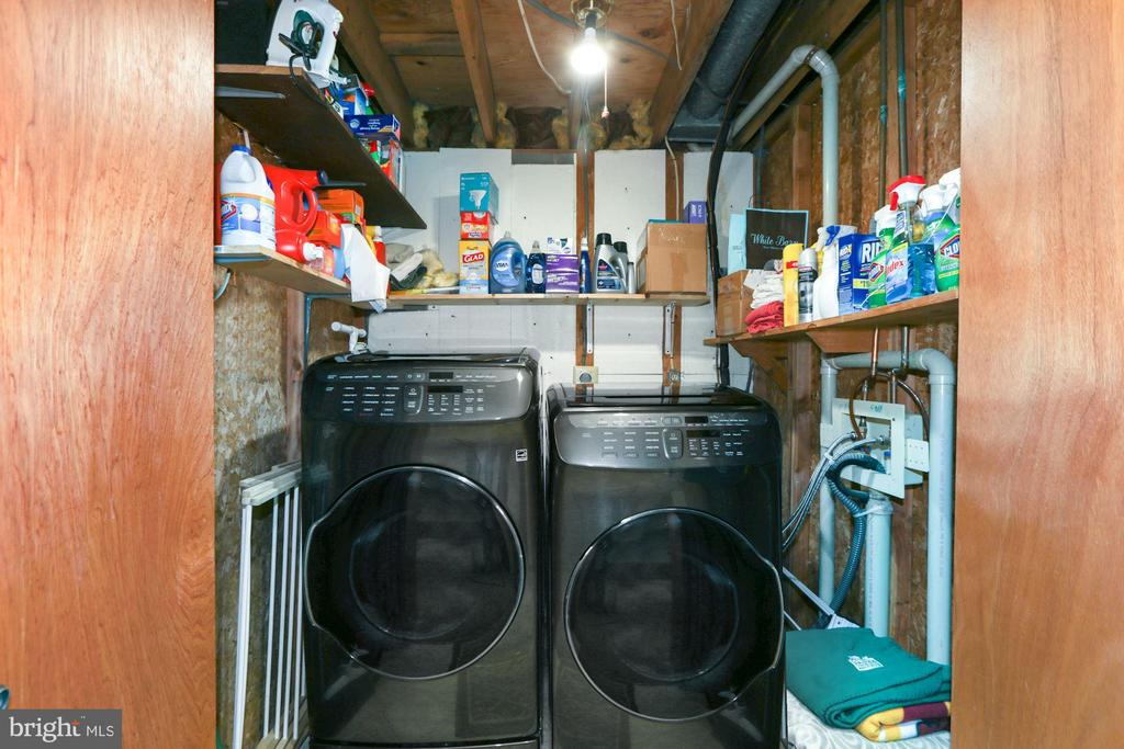 Laundry area - 10613 PINEVIEW RD, MANASSAS