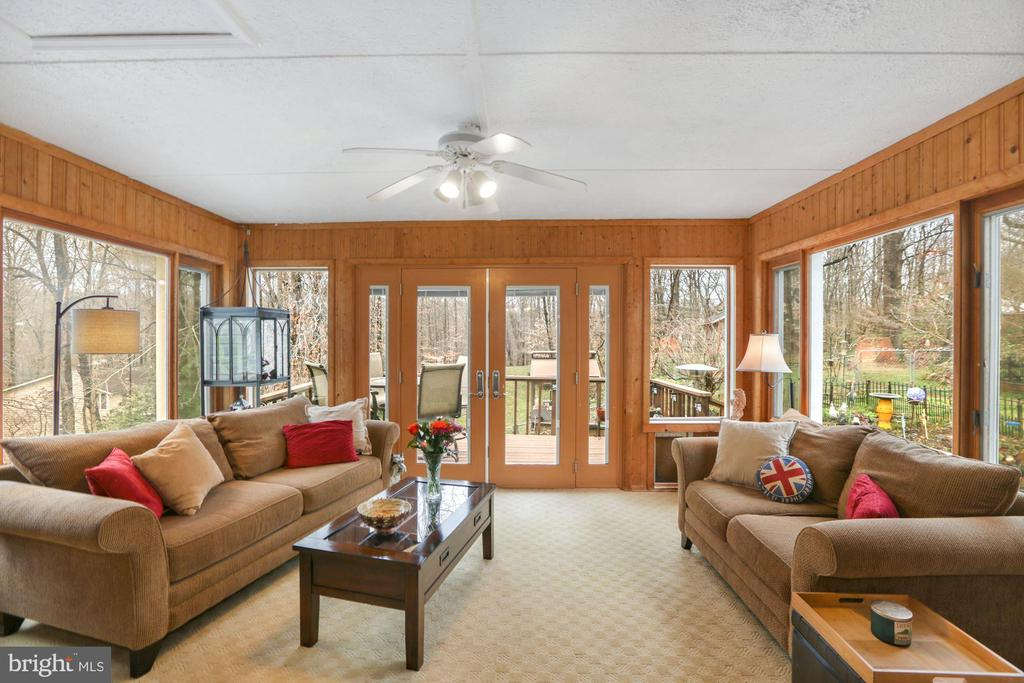 Sunroom off Dining Room - 10613 PINEVIEW RD, MANASSAS