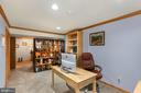 Lower Level Home office - 10613 PINEVIEW RD, MANASSAS