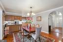 Dining Room - 10613 PINEVIEW RD, MANASSAS