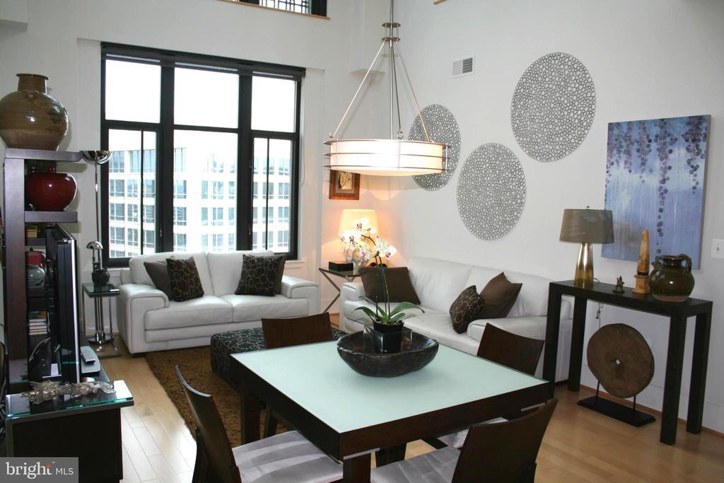 Living Room - 4301 MILITARY RD NW #PH4, WASHINGTON