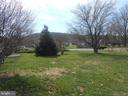 Backyard views of South Mountain - 26 MAPLE AVE, SMITHSBURG