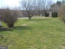 Backyard of .29 acre yard - 26 MAPLE AVE, SMITHSBURG