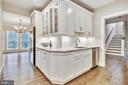 Wrap around  Butlers Pantry w/ sink - 9524 LEEMAY ST, VIENNA