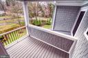 Owner's suite deck - 405 NELSON DR NE, VIENNA