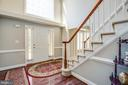 2 story foyer - 94 BROOKESMILL LN, STAFFORD
