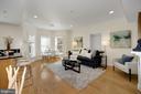Living / Dining Room - 1740 18TH ST NW #201, WASHINGTON