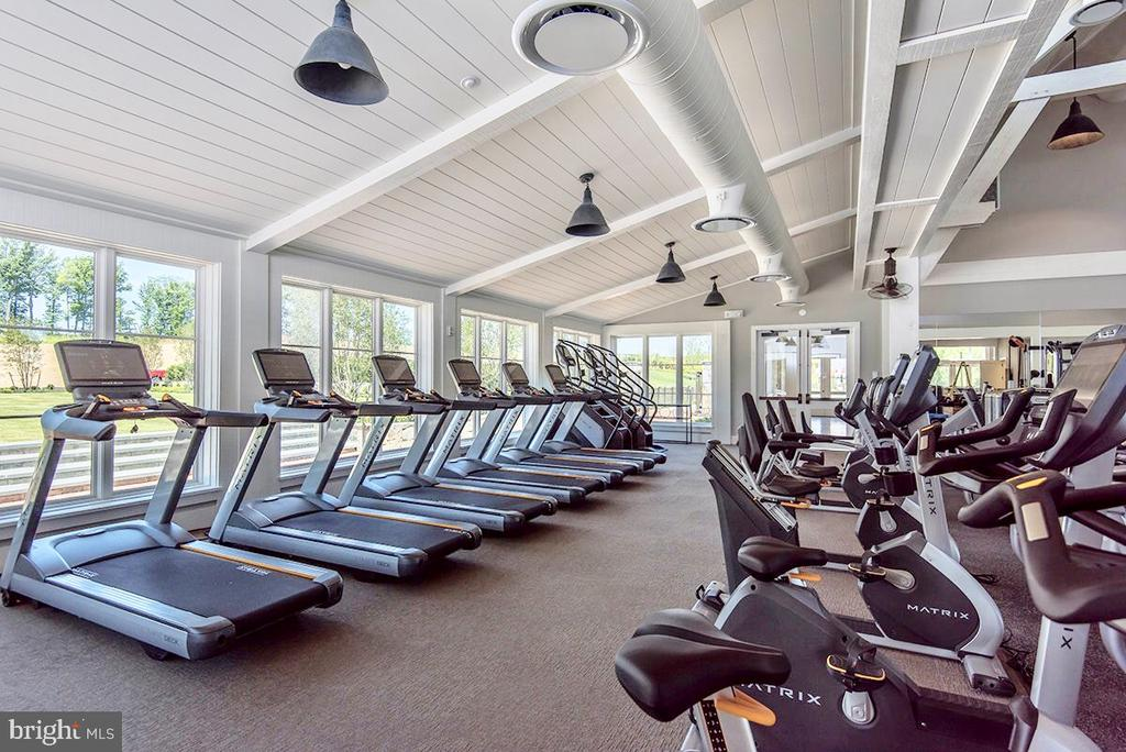 The Gym, is included in HOA fee monthly - 17353 REDSHANK RD, DUMFRIES