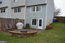 Enjoy entertaining on your patio! - 212 DEERVALLEY DR, FREDERICK