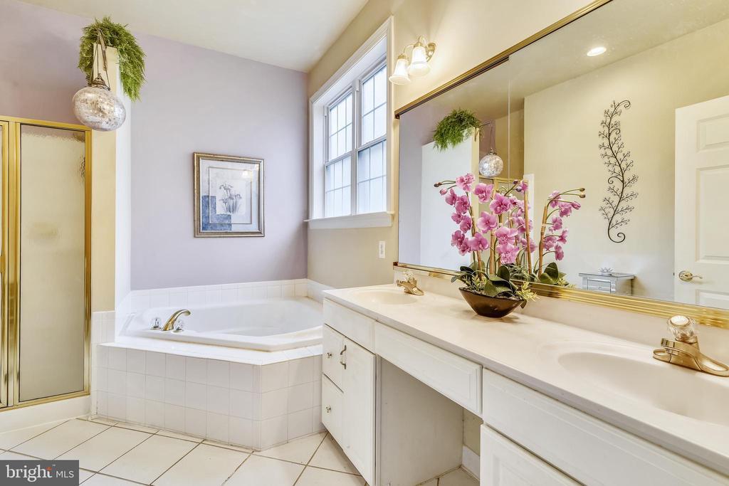 Owner's bath - 5312 TREVINO DR, HAYMARKET