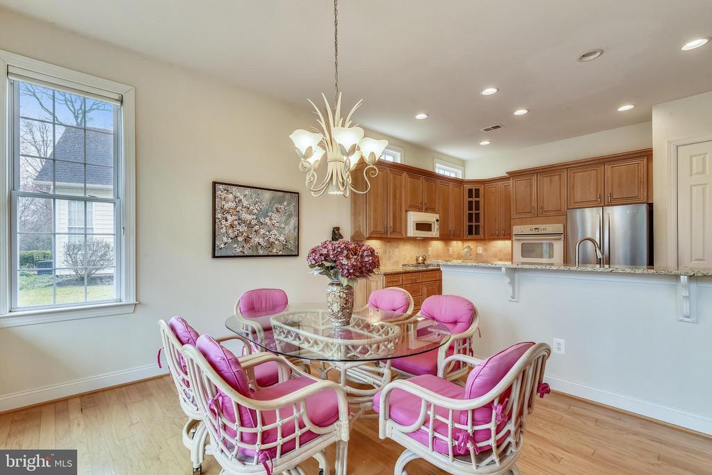 Breakfast room w/ room for table. - 5312 TREVINO DR, HAYMARKET